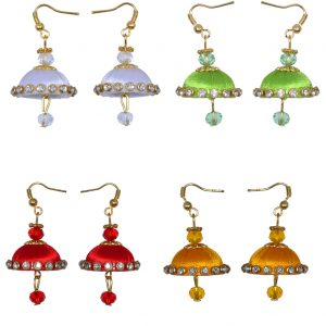Mini – Earring – White – Red – Yellow – Gold