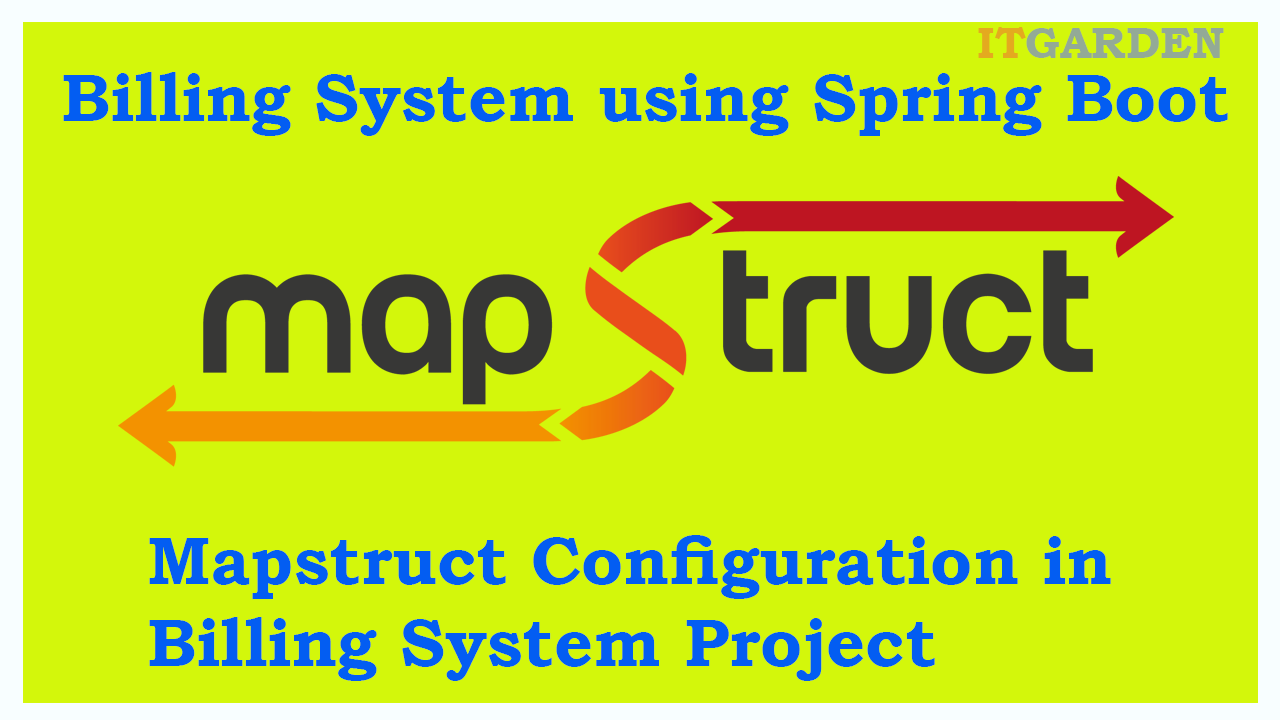 MapStruct Configuration and Example in the BillingSystem