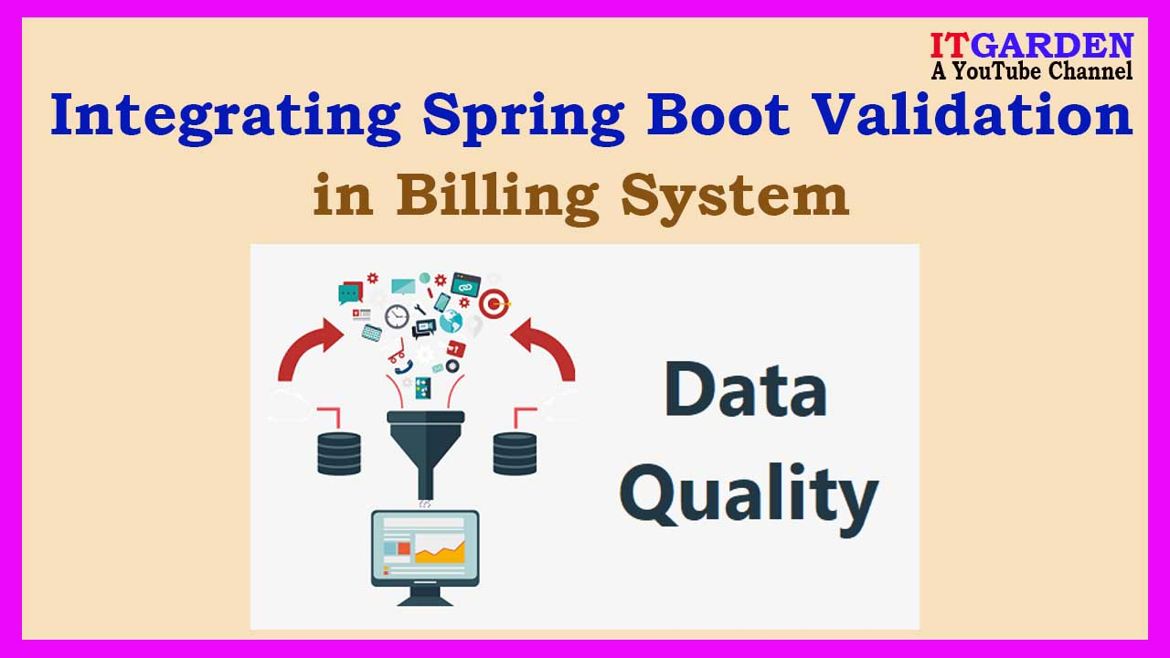 Billing System using Spring Boot Integrating Validation Framework