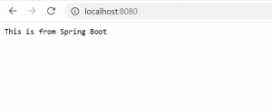 Spring boot default security